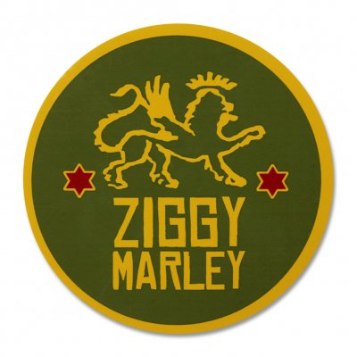 Ziggy Marley - Lion Star Sticker