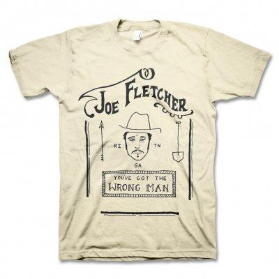 Joe Fletcher - Wrong Man T-Shirt (Natural)