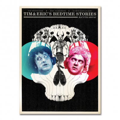 tim-and-eric - Bedtime Stories - Pilot Fine Art Print