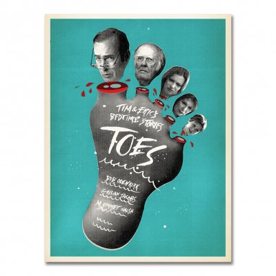 tim-and-eric - Bedtime Stories - Toes Fine Art Print
