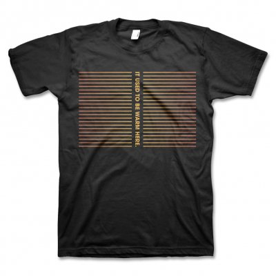 Com Truise - It Used To Be Warm Here T-Shirt (Black)
