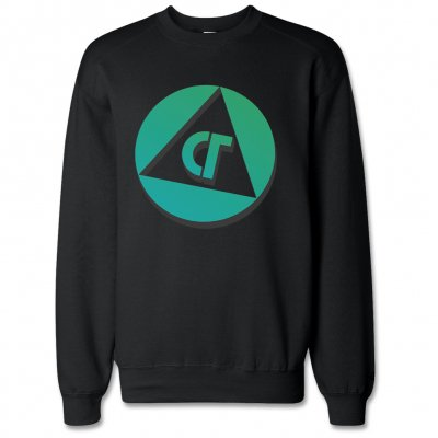 Com Truise - Badge Crew Neck Sweatshirt (Black)