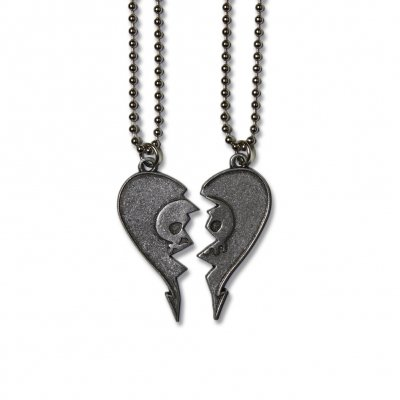 alkaline-trio - Heartskull Friendship Necklace