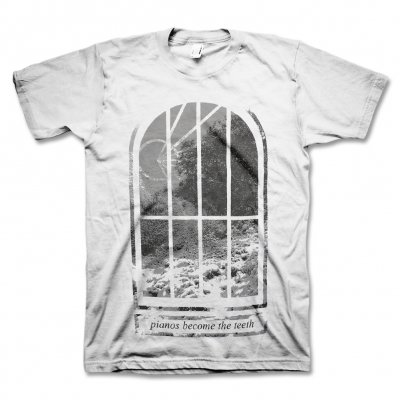 pianos-become-the-teeth - Window T-Shirt (White)