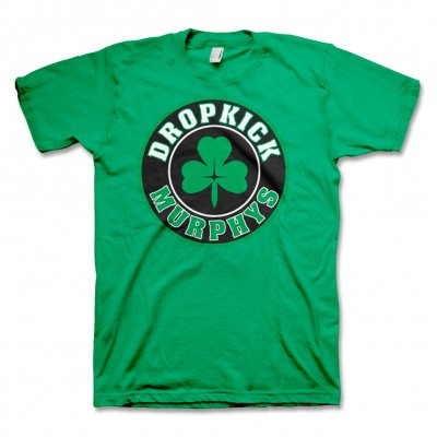 dropkick-murphys - Shamrock Circle T-Shirt