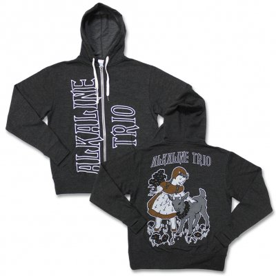alkaline-trio - Goat Girl Zip Up Sweatshirt