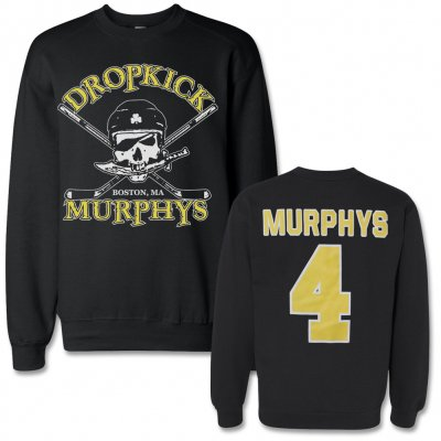dropkick-murphys - Hockey Skull Crew Neck Sweatshirt