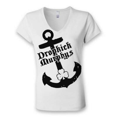 Dropkick Murphys - Anchor V-Neck - Women's T-Shirt