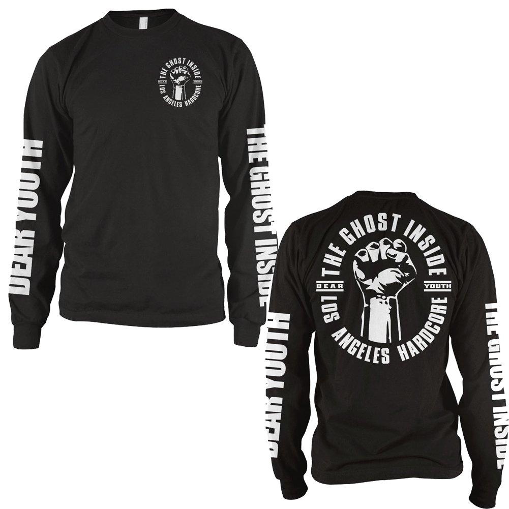 IMAGE   Dear Youth Long Sleeve T-Shirt (Black)