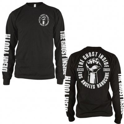 Dear Youth Long Sleeve T-Shirt (Black)