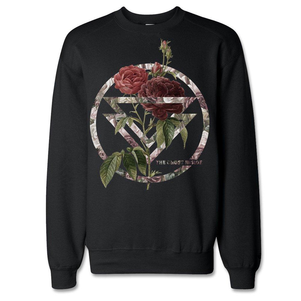 IMAGE   Bouquet Crew Neck Sweatshirt (Black)