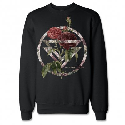 the-ghost-inside - Bouquet Crew Neck Sweatshirt (Black)