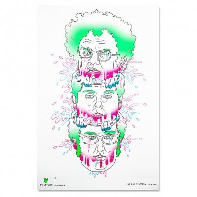 tim-and-eric - 2014 Tim & Eric Tour Print