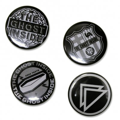 the-ghost-inside - Dear Youth Button Pack