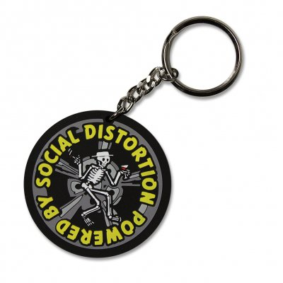 social-distortion - Powerd By - Rubber Keychain