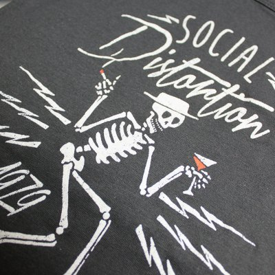 social-distortion - Electric Skelly Tank Top - Women's