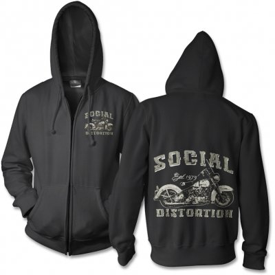 social-distortion - Chopper Zip Up Sweatshirt