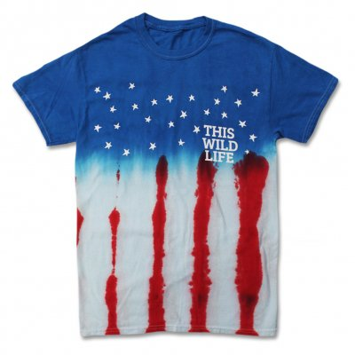 this-wild-life - USA Tie Dye T-Shirt
