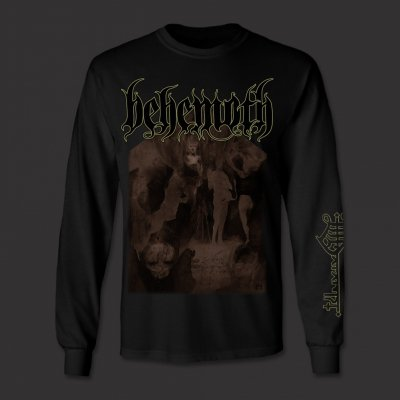 behemoth - The Satanist Long Sleeve T-Shirt (Black)
