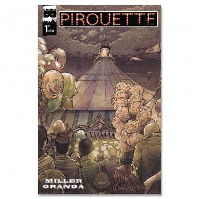 Black Mask Studios - Pirouette - Issue #1