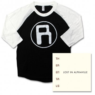the-rentals - Baseball Tee & Lost In Alphaville CD