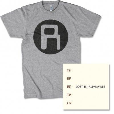 The Rentals - Grey Rentals Logo Tee & Lost In Alphaville CD