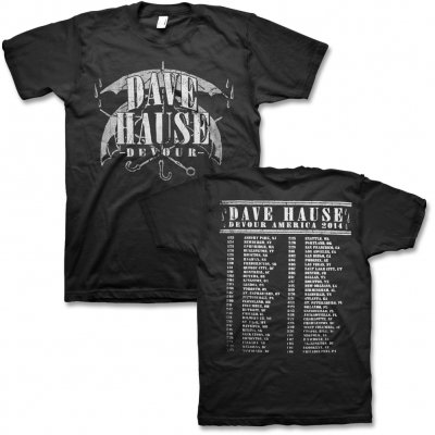 dave-hause - Devour Tour T-Shirt (Grey/Black)