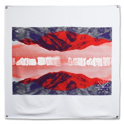 touche-amore - PTSBBAM Flag (White)