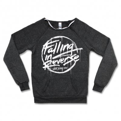 Falling In Reverse - Sketchy Logo Sweatshirt - Women's (Dark Heather)