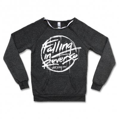 Falling In Reverse - Sketchy Logo Sweatshirt - Women's (Dark Heather)