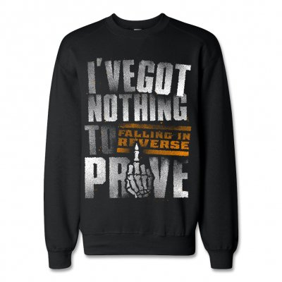 Falling In Reverse - Nothing To Prove Crew Neck Sweatshirt (Black)