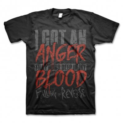 Falling In Reverse - Anger Tee (Black)