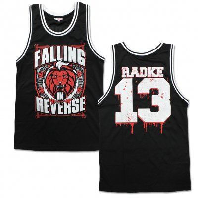 Falling In Reverse - Lion Basketball Jersey (Black)