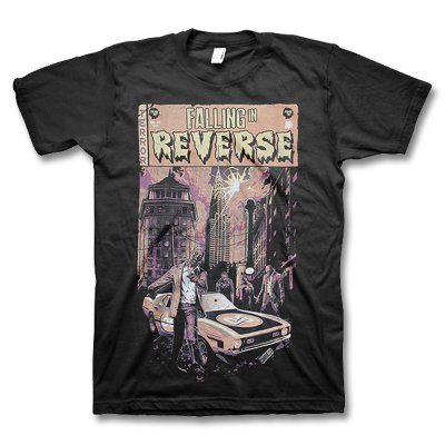 Falling In Reverse - Comic book Tee (Black)