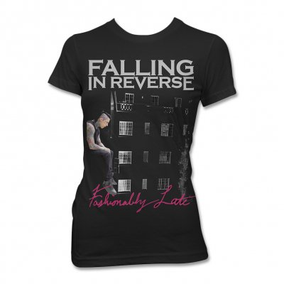 Falling In Reverse - Fashionably Late Album Tee - Women's