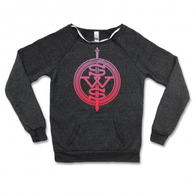 sleeping-with-sirens - Women's - Pink Symbol Logo Sweatshirt