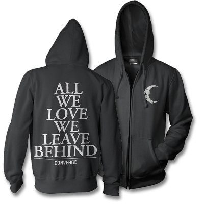 epitaph-records - Half Moon Zip Hoodie (Black)