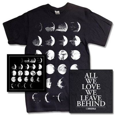 Converge - All We Love Bundle - CD & Album Tee (black)