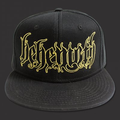 Logo Snap Back Hat (Black)