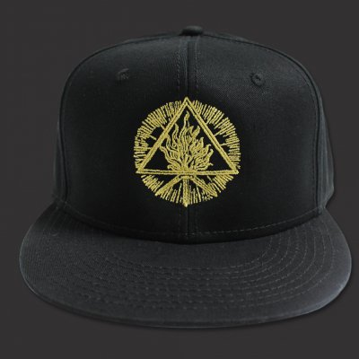 valhalla - Sigil Snap Back Hat (Black)