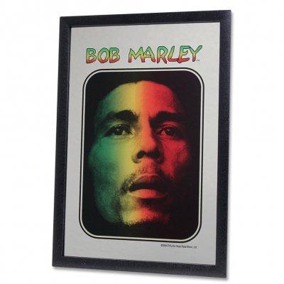 ziggy-marley - Bob Marley - Tri Color Portrait Mirror