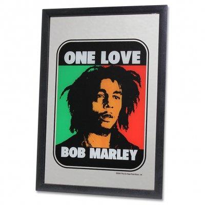 ziggy-marley - Bob Marley - One Love Tri-Color Mirror
