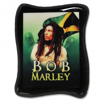 Bob Marley - Bamboo Wall Art (Dark Green)