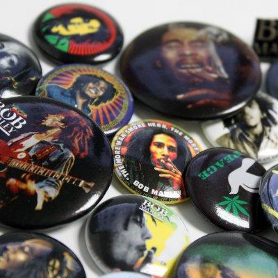 Bob Marley - 3 For $5 Pin Mystery Bundle