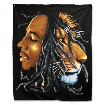 ziggy-marley - Bob Marley - Lion Fleece Blanket