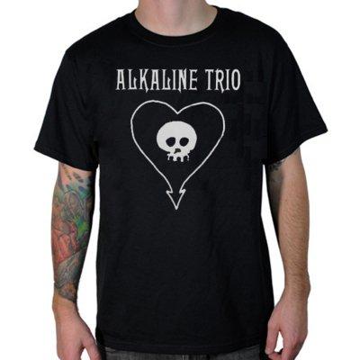 alkaline-trio - Classic Heartskull Tee (Black)