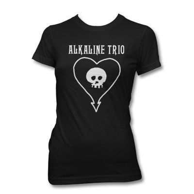 epitaph-records - Classic Heartskull Womens Tee