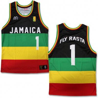 ziggy-marley - Rasta Basketball Jersey