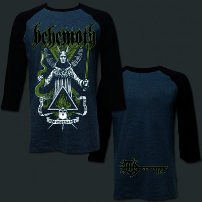 behemoth - Disintegrate Raglan (Heather/Black)