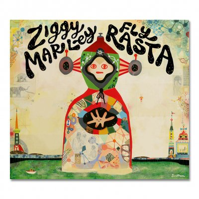 ziggy-marley - Fly Rasta - CD